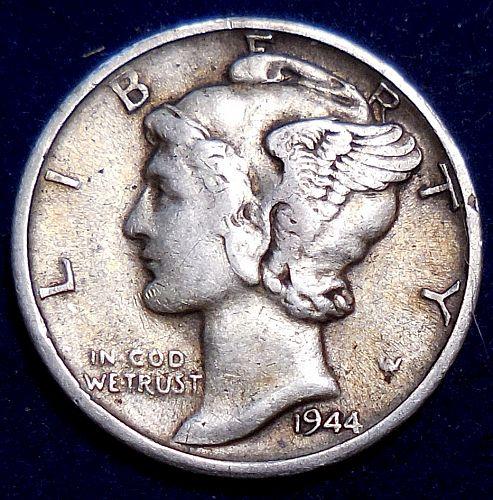 1944-S Mercury Dime