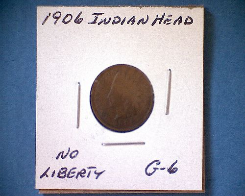 1906 P Indian Head Cent Small Cents