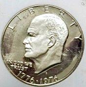 1976 S Eisenhower Dollar Type 1 Silver Proof