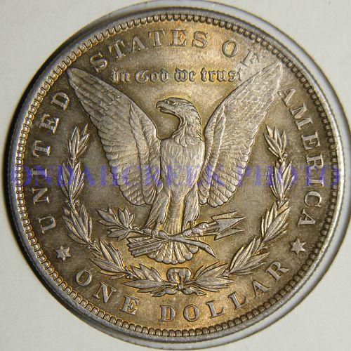 1896 Morgan Dollar AU-55