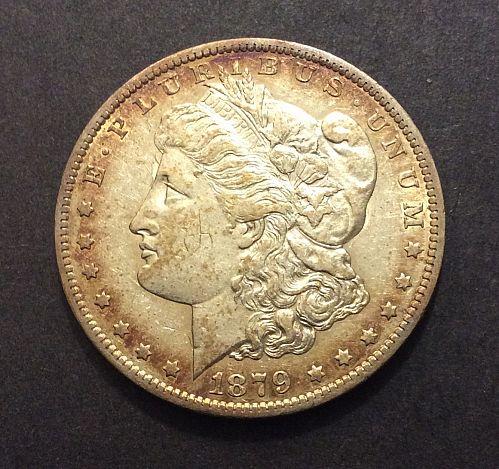 1879 O Morgan Dollar, solid AU imo, see pics and description!