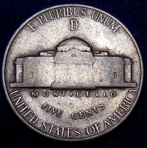 1945-D Jefferson Nickel