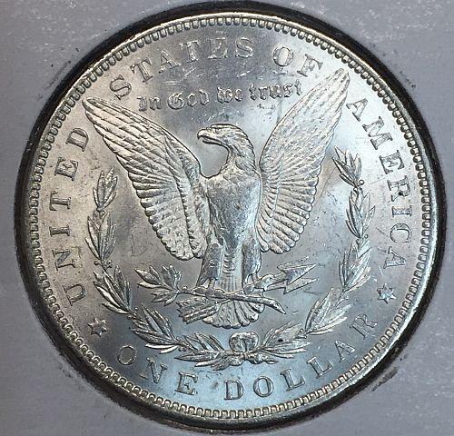 1888 Morgan Silver Dollar MS60+