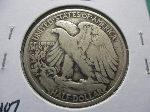 1936  VG8 Walking Liberty Half Dollar.  Item: 50 W36-08.