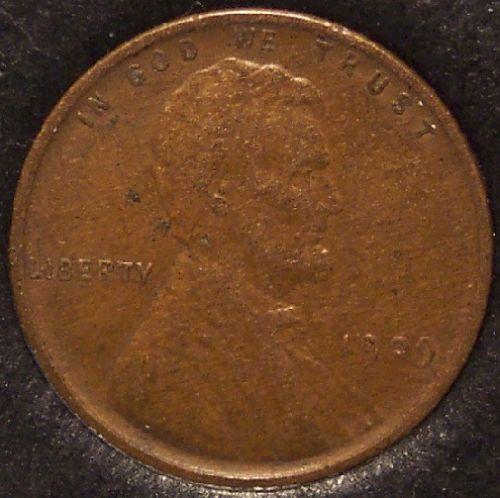 1909 VDB Lincoln Wheat Back Penny VF35 #0865