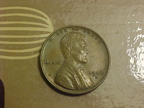1940 D LINCOLN CENT            as41