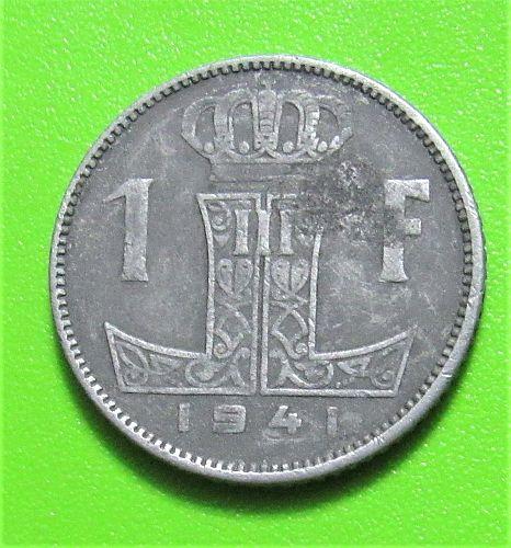 1941 Belgium Franc