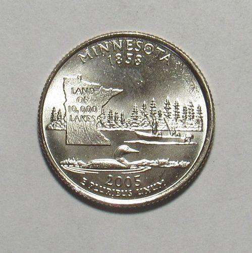 2005 D Minnesota 50 States Quarter BU