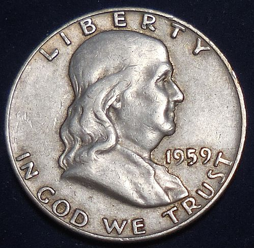 1959-D Franklin Half Dollar