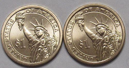 2008 P&D Presidential Dollars: Andrew Jackson in BU