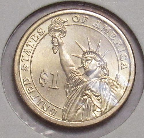 2009 P Presidential Dollar: Zachary Taylor, in BU condition