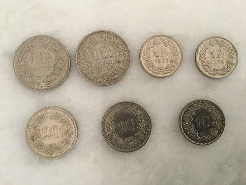 Swiss Coin assortment