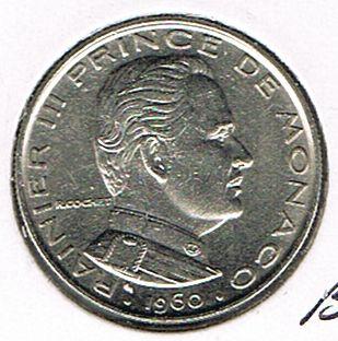 1 Franc, Monaco, 1960