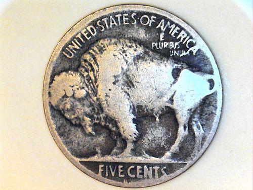 1924 S Buffalo Nickel---VG-Fine, weak S