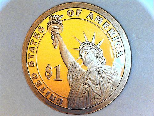 2007 S Proof George Washington Dollar