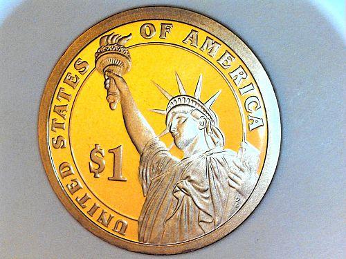 2007 S Proof Thomas Jefferson Dollar