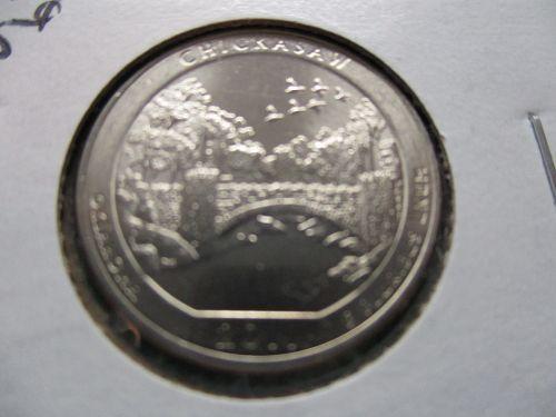 2011-D  Chickasaw Amer the Beauti Quarter.  Item: 25 AB11D OK-02.