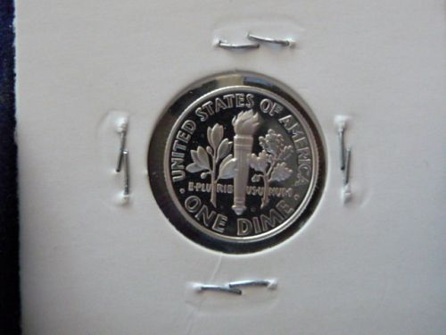 2006-S ROOSEVELT SILVER DIME IN 2X2 HOLDER FROM PROOF SET  G-20-21