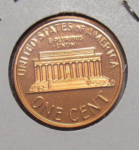 1977 S Proof Lincoln Memorial Cent