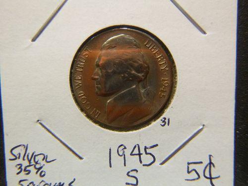 1945 S Jefferson Nickels