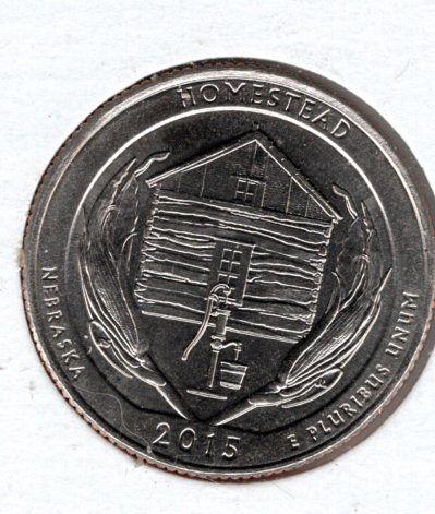2015 D Homestead America The Beautiful Quarters - 7f1