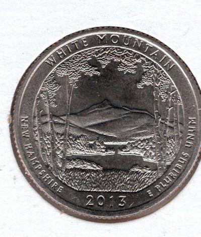 2013 D White Mountain America The Beautiful Quarters - 7f5