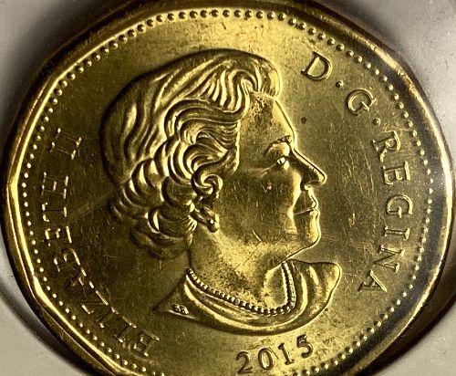 2015 Canadian Dollar