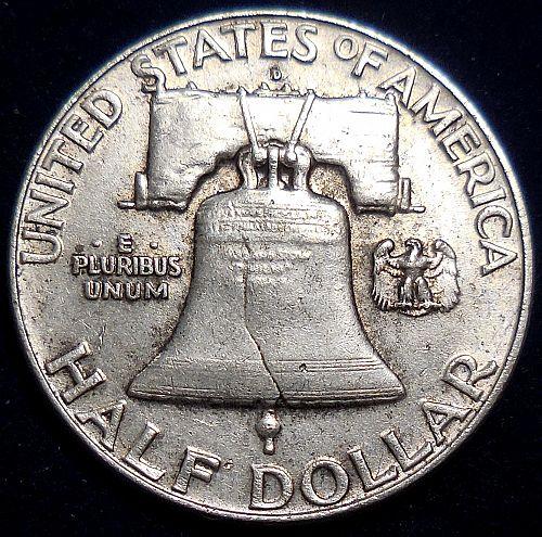 1963-D Franklin Half Dollar Error