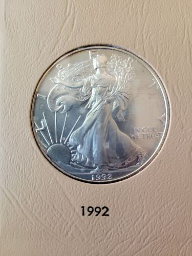 1992 Silver American Eagle