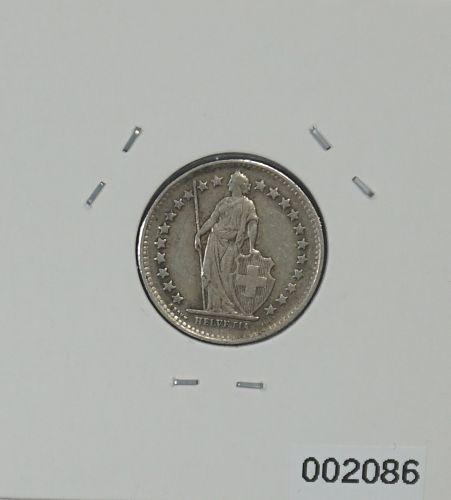 1946 Switzerland 1/2 Franc