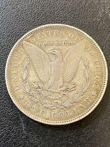 1878 P MORGAN DOLLAR VF+/XF DETAILS - FIRST YEAR - SILVER DOLLAR - BETTER DATE