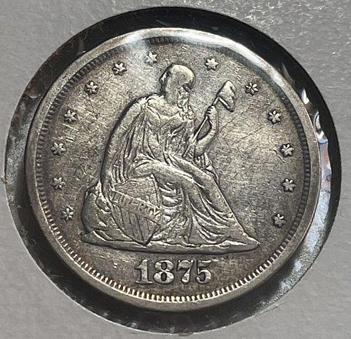 1875 S Twenty Cents. 31134