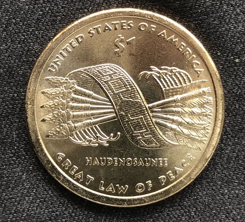 2010 P BU Native American Dollar-Great Law of Peace (0724-2)
