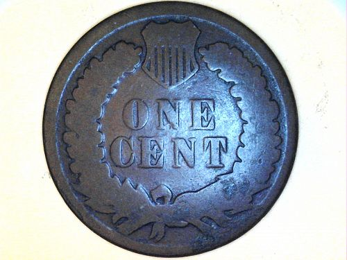 1884 Indian Head Cent---Good Details, corrosion
