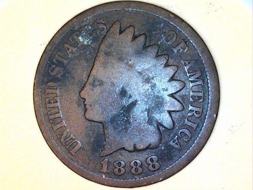 1888 Indian Head Cent---Good