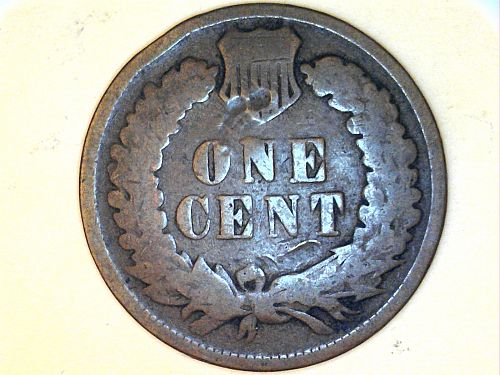 1896 Indian Head Cent--Good Details