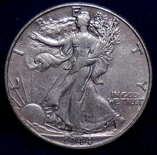 1944-P Walking Liberty Half Dollar