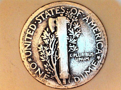 1916 P Mercury Dime--Good