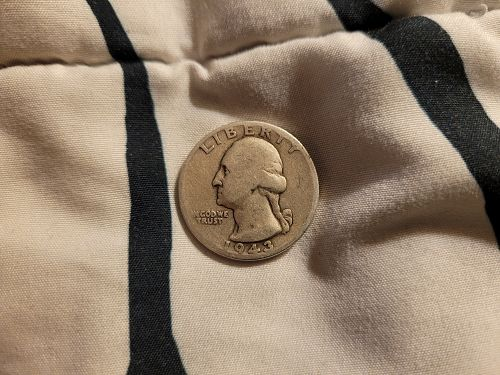 1943-D Washington Quarter Dollar
