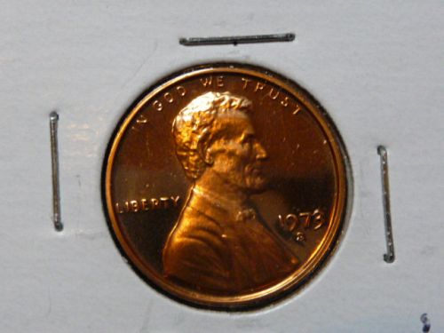 1973-S LINCOLN MEMORIAL CENT IN PROOF CONDITION  L-10-20