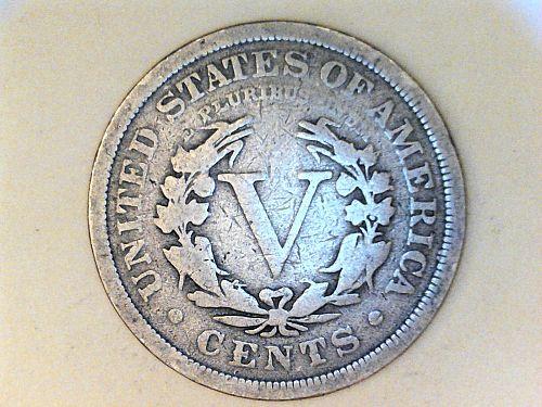 1909 Liberty Nickel----Good-VG