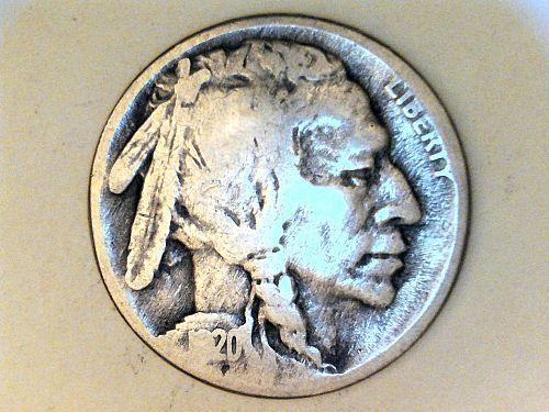 1920 S Buffalo Nickel---AG