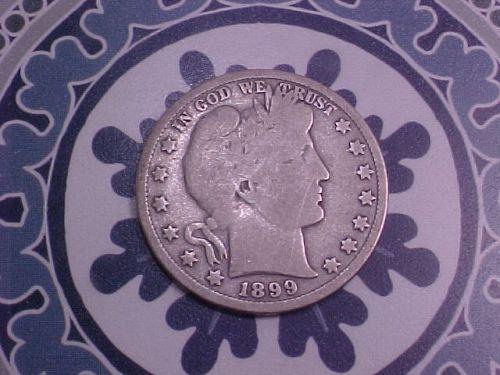 1899 BARBER HALF DOLLAR        av01