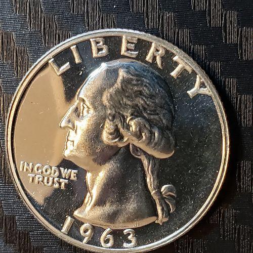 1963-P Washington Quarter Proof