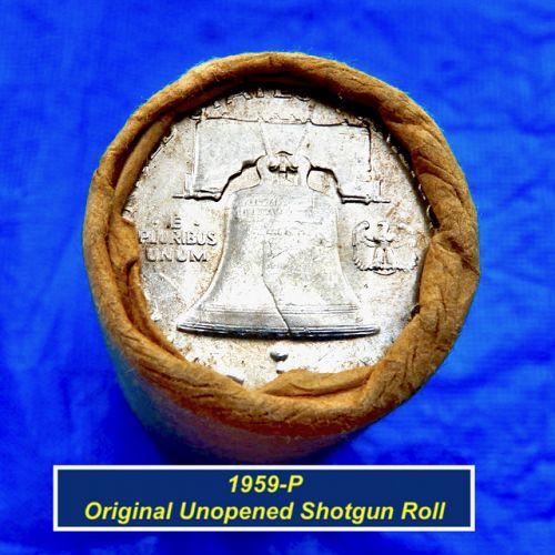 1959-P  OBW Franklin Roll ⭐️ Unopened ⭐️ Possible Varieties ⭐️R1001