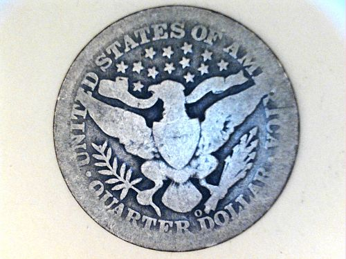 1895 O Barber Quarter--AG-G