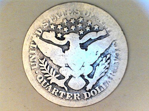 1899 P Barber Quarter--AG-Good