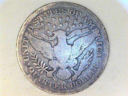 1908 O Barber Quarter--G-VG