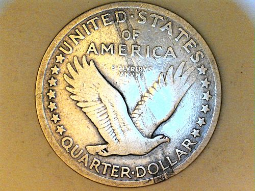1917 P Type 1 Standing Liberty Quarter---Fine Details, (price dropped 9/03/21)