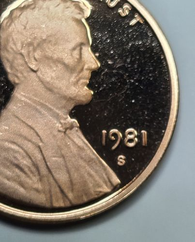 1981-S TYPE 2 Lincoln Cent Proof-65 (GEM) RED KEY DATE!